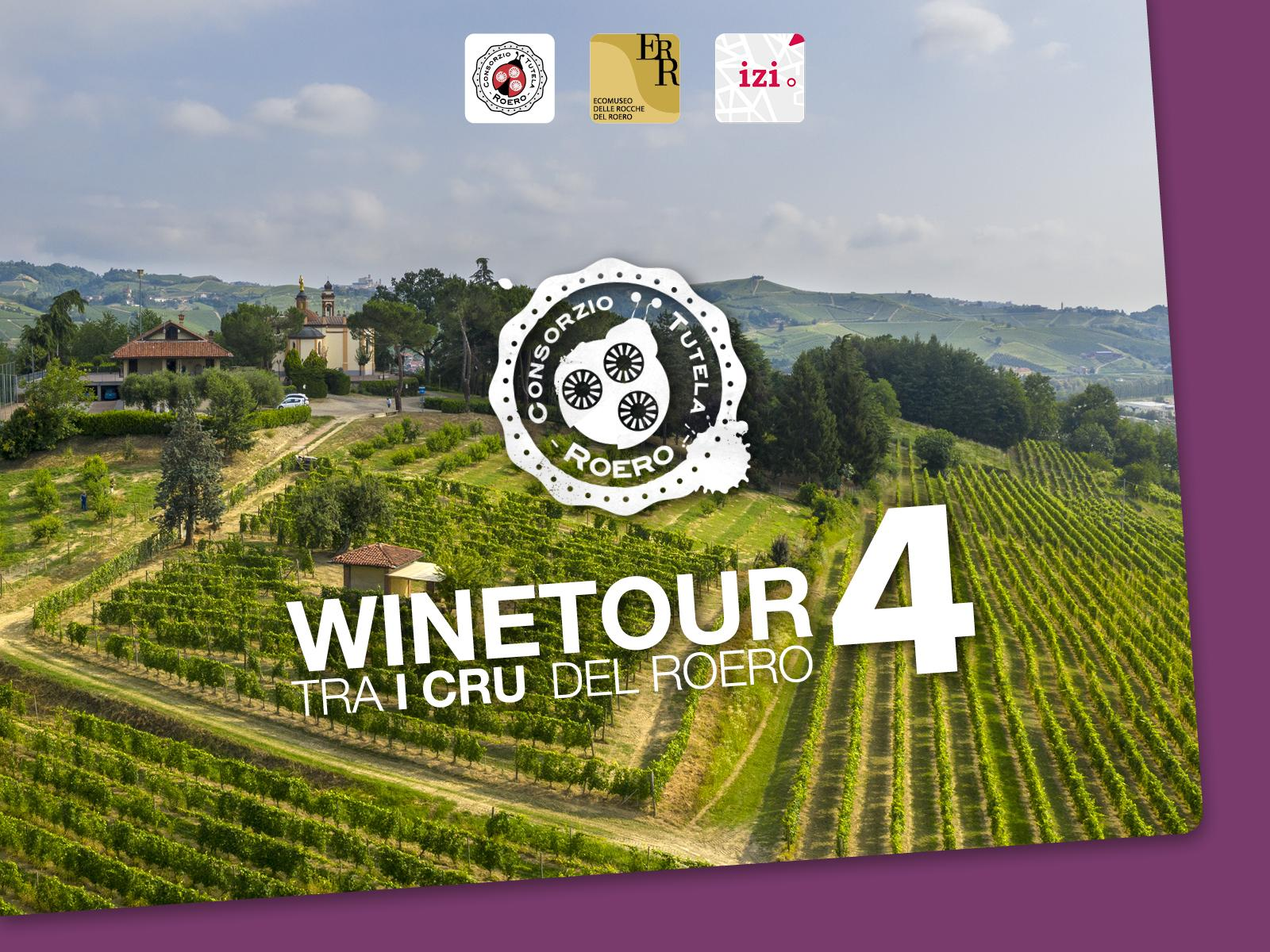 WineTour 4 – The panoramic crus of central Roero territory
